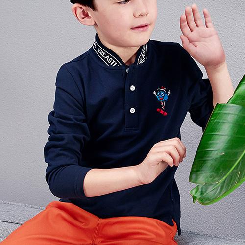 Classic Cotton Polo Shirt for Boys