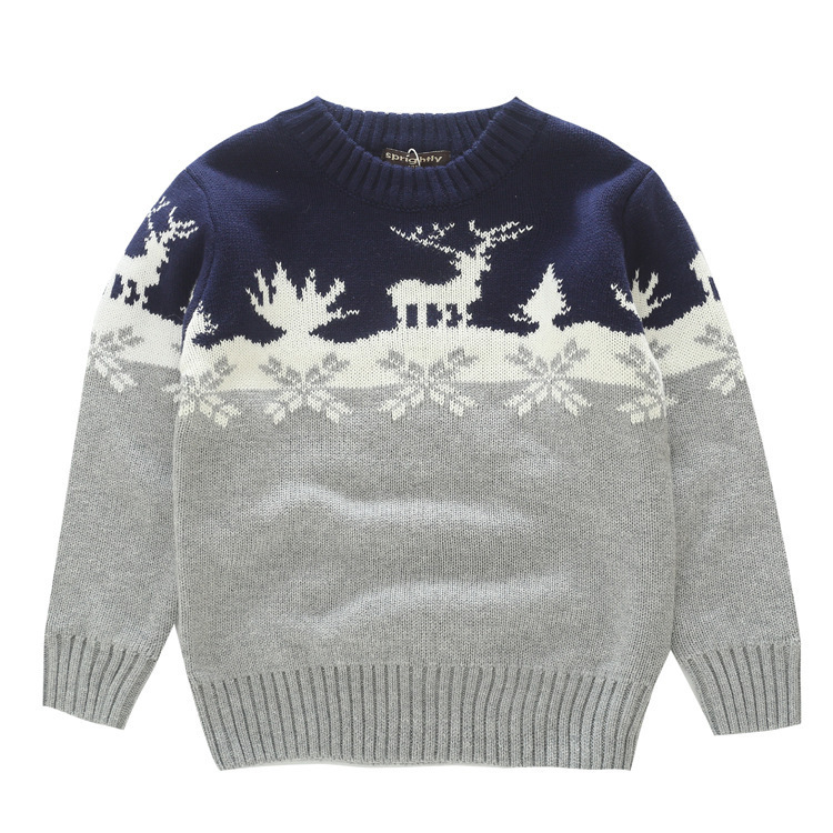 Reindeer Knit Sweater for Kids