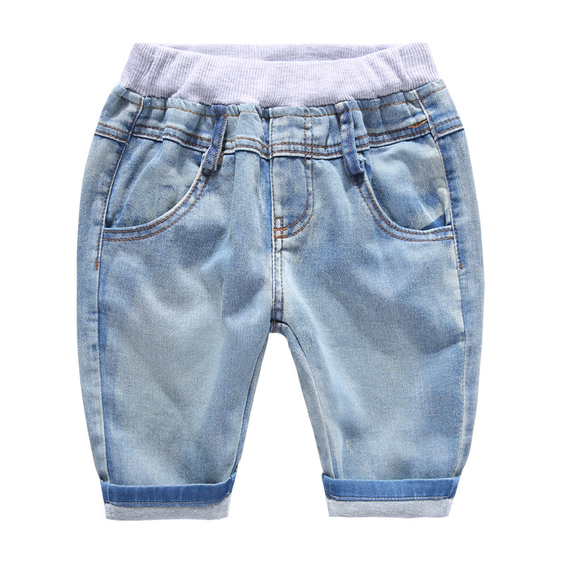 Boy's Denim Shorts in Blue